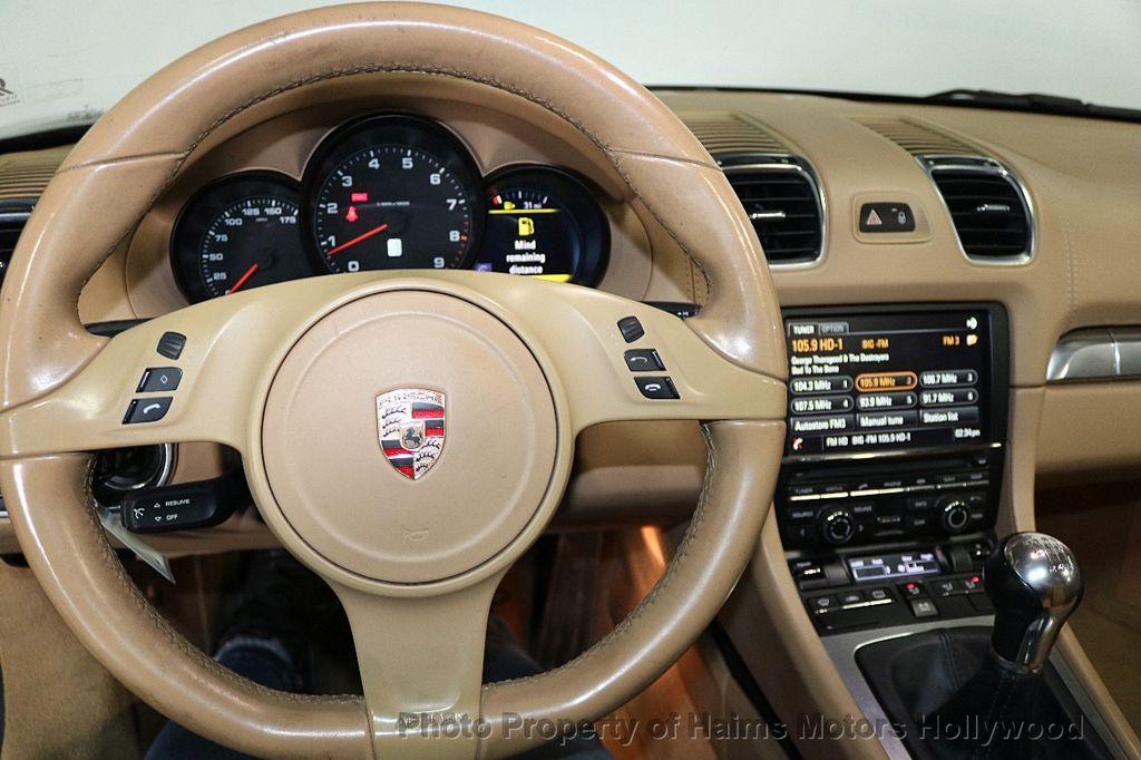2014 Porsche Boxster 2dr Roadster - 17536410 - 28