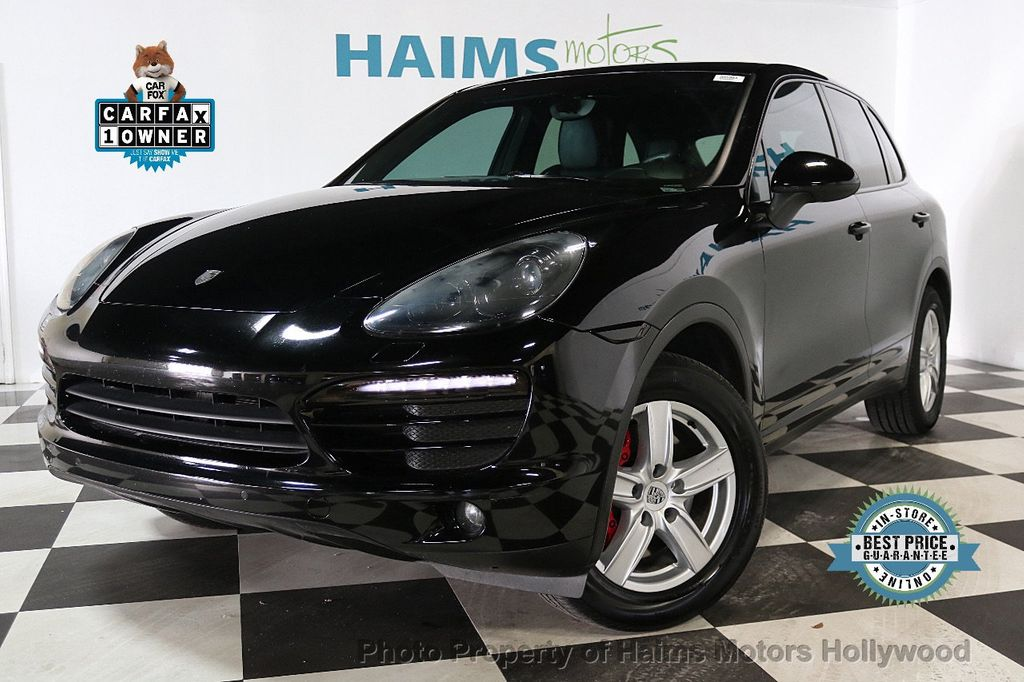 2014 Porsche Cayenne Base Trim - 17753006