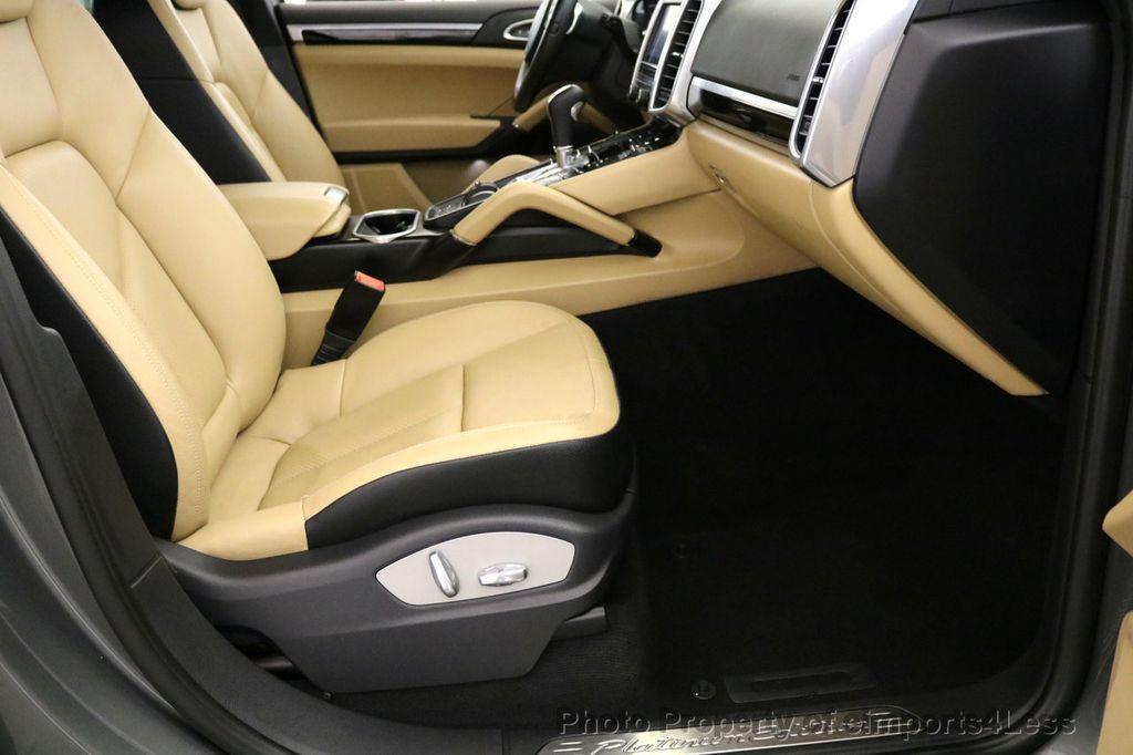 2014 Porsche Cayenne CERTIFIED CAYENNE PLATINUM AWD CAMERA PANO NAVI - 17009062 - 25