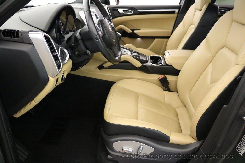 2014 Porsche Cayenne CERTIFIED CAYENNE PLATINUM AWD CAMERA PANO NAVI - 17009062 - 43