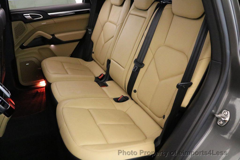 2014 Porsche Cayenne CERTIFIED CAYENNE PLATINUM AWD CAMERA PANO NAVI - 17009062 - 45