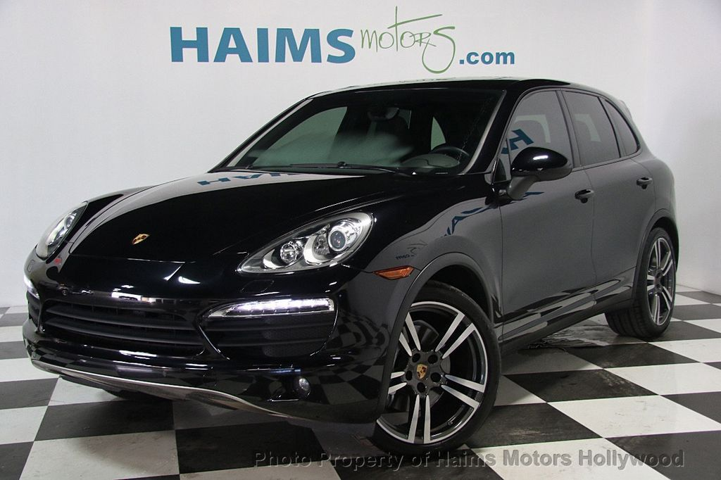 2014 used porsche cayenne s at haims motors serving fort lauderdale