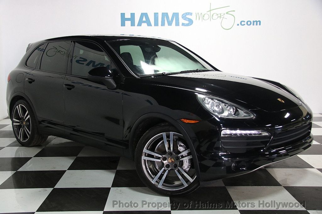 2014 Used Porsche Cayenne S At Haims Motors Serving Fort