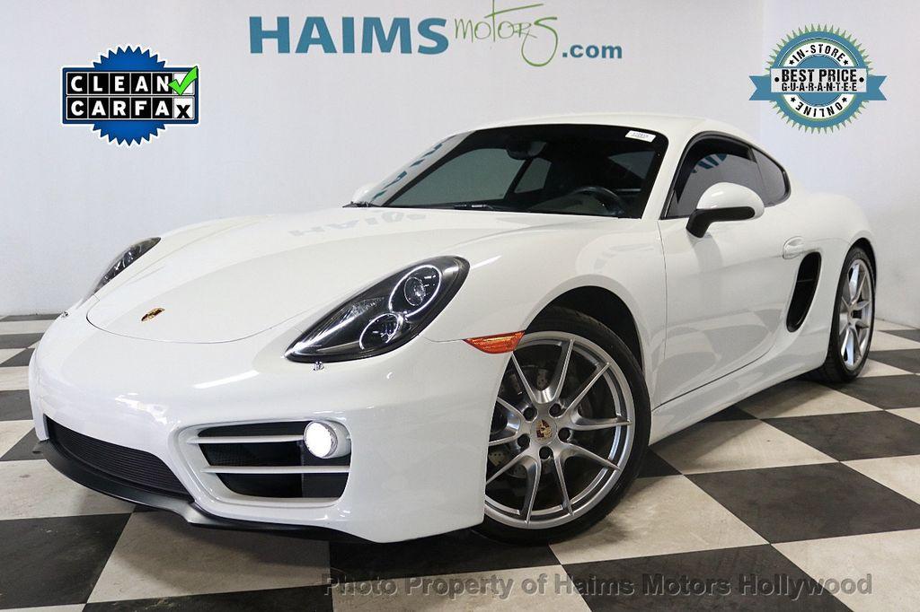 2014 Porsche Cayman 2dr Coupe - 18663305 - 0