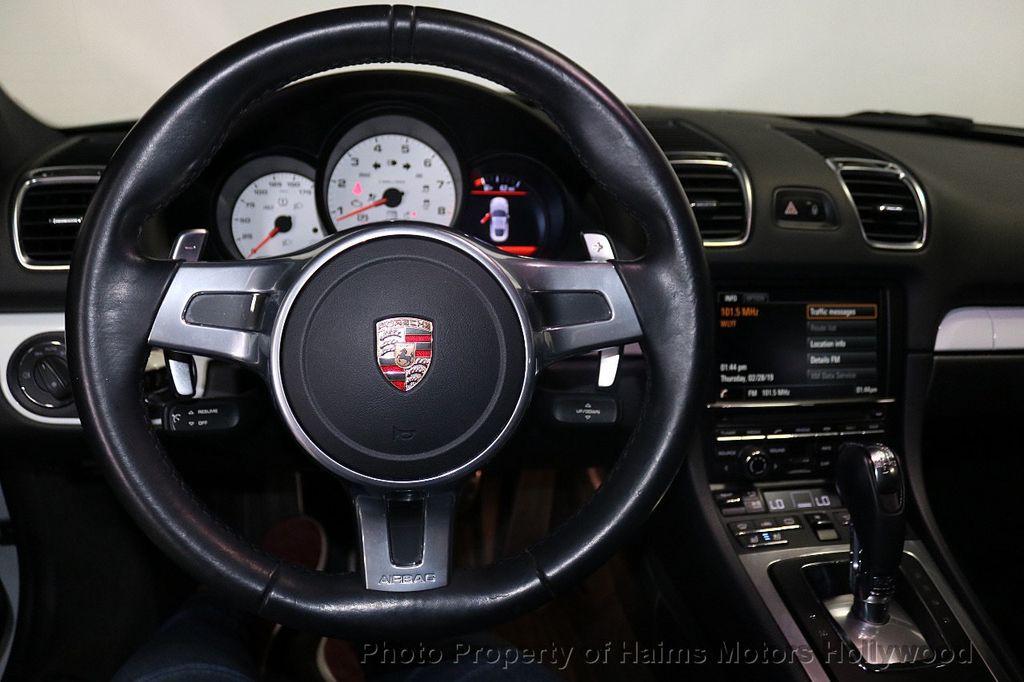 2014 Porsche Cayman 2dr Coupe - 18663305 - 18