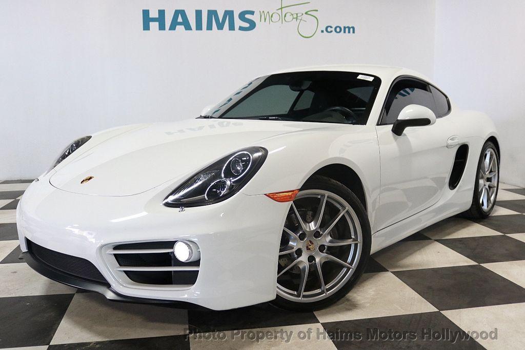 2014 Porsche Cayman 2dr Coupe - 18663305 - 1