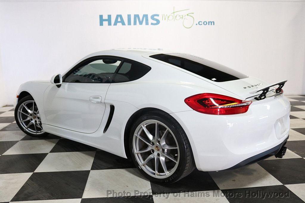 2014 Porsche Cayman 2dr Coupe - 18663305 - 4
