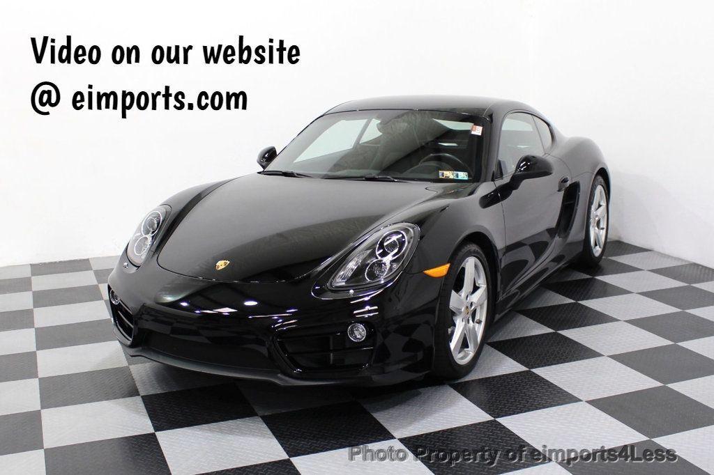 2014 Porsche Cayman CERTIFIED CAYMAN 6 SPEED - 18130108 - 0