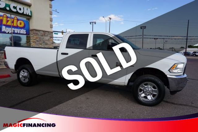 Used Ram 2500 >> 2014 Used Ram 2500 4wd Crew Cab 169 Tradesman At Magic Financing Serving Denver Co Iid 19434256