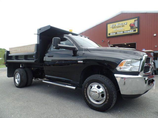 Used Dump Trucks >> 2014 Used Ram 3500 Tradesman 4x4 Dump Truck At Jim