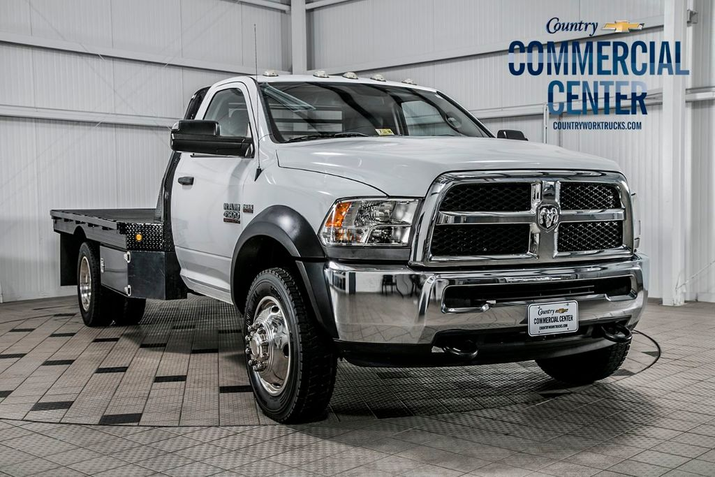 2014 Ram 4500 RAM 4500 4X4 * 6.4 HEMI * 11' BRADFORD HAULER * LOCAL TRADE - 15236882 - 0