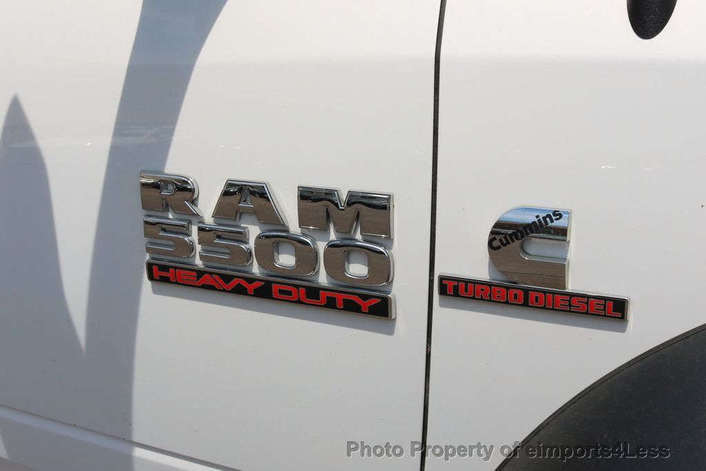 2014 Ram 5500 5500 HD 4X4 CUMMINS DIESEL DUALLY DUMP TRUCK - 17655685 - 28