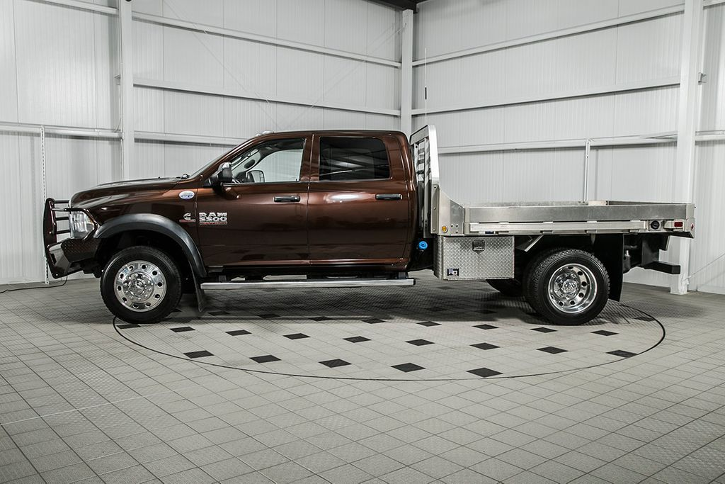 2014 Used Ram 5500 Tradesman 9 Eby Flat Bed At Country Commercial