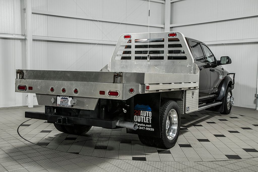 2014 Used Ram 5500 Tradesman 9 Eby Flat Bed At Country
