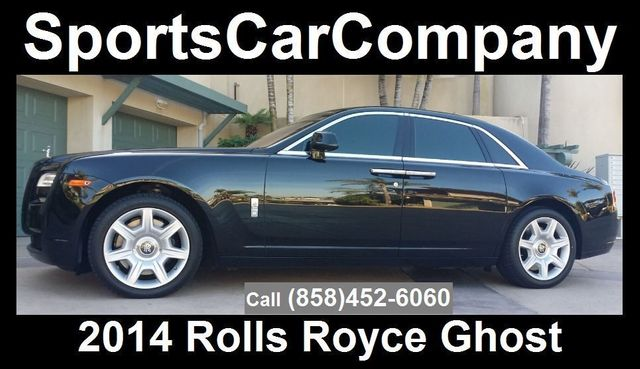 2014 Rolls-Royce Ghost Luxury 5 Place Sedan