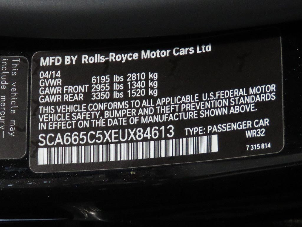 2014 Rolls-Royce Wraith 2dr Coupe - 17999030 - 39