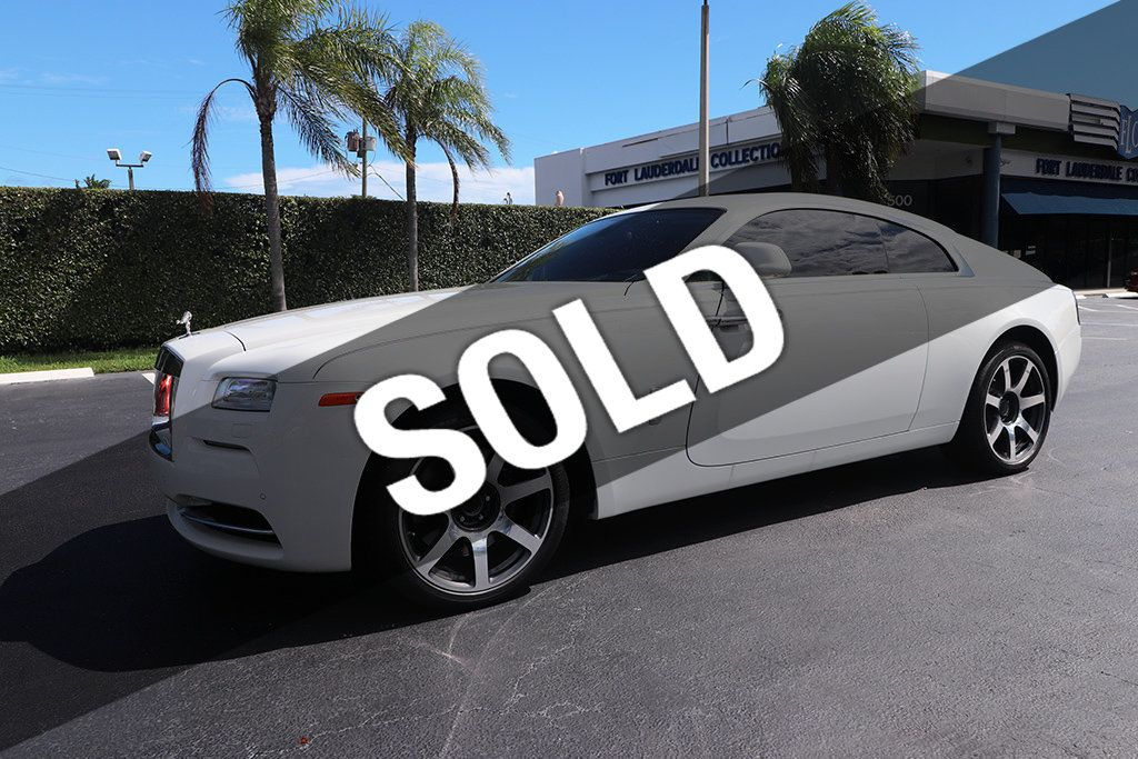 Rolls Royce Wraith 0 60 >> 2014 Used Rolls Royce Wraith 2dr Coupe At Fort Lauderdale