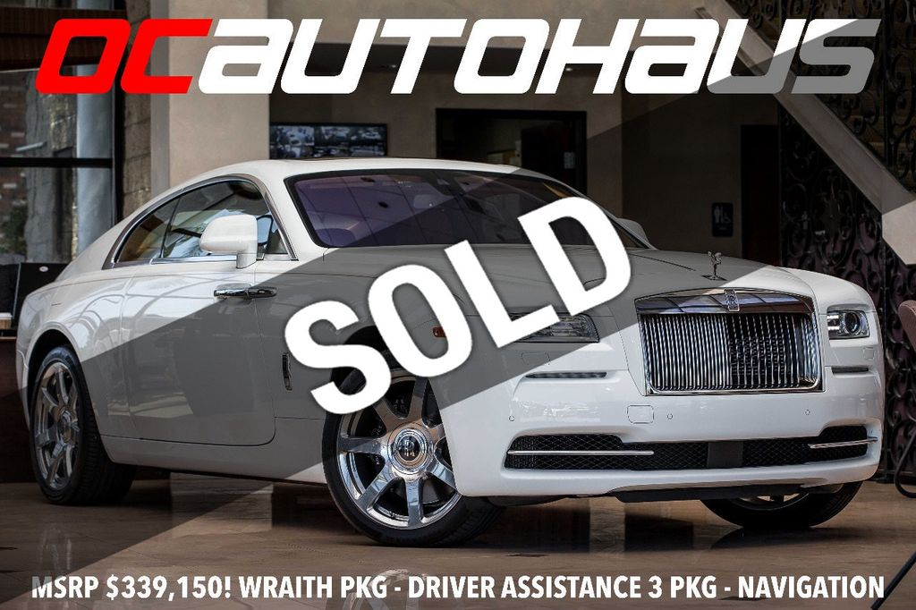 2014 used rolls-royce wraith 2dr coupe at oc autohaus serving