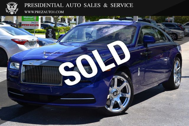 Rolls Royce Wraith For Sale >> 2014 Used Rolls Royce Wraith 2dr Coupe At Presidential Auto Sales Service And Leasing Serving Palm Beach Boca Raton Delray Beach Fl Iid 18858575