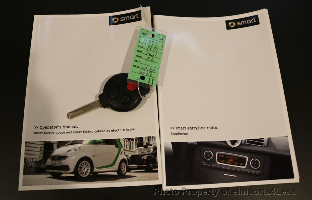 2014 smart fortwo electric drive CERTIFIED ForTWO ED Electric Drive  - 17270734 - 31