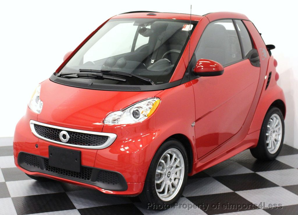 2014 used smart fortwo electric drive certified fortwo e. Black Bedroom Furniture Sets. Home Design Ideas