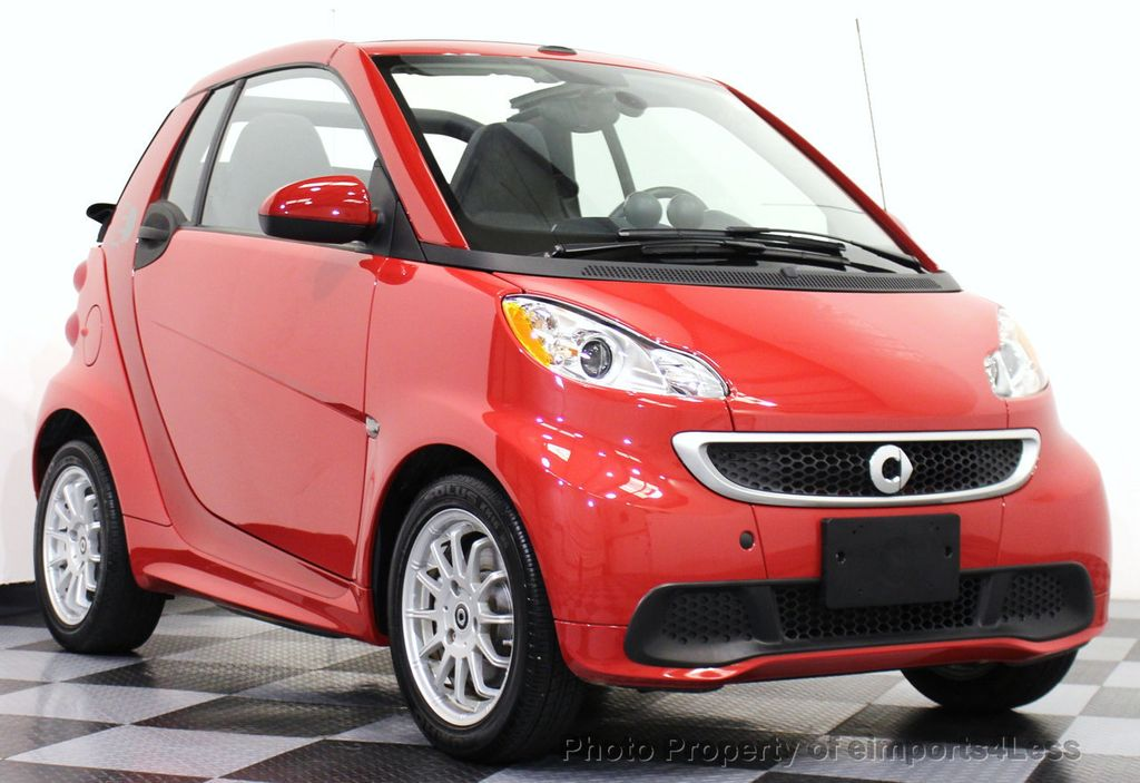 2014 Used Smart Fortwo Electric Drive Certified Fortwo E Electric