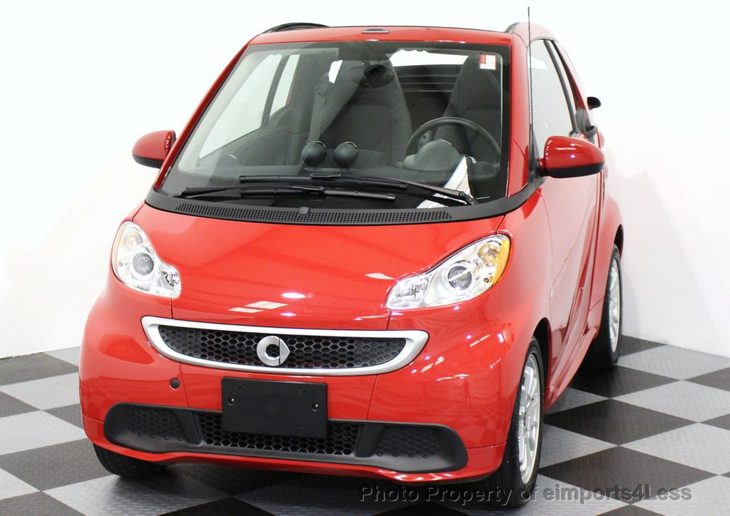 2014 used smart fortwo electric drive certified fortwo e electric convertible at eimports4less. Black Bedroom Furniture Sets. Home Design Ideas