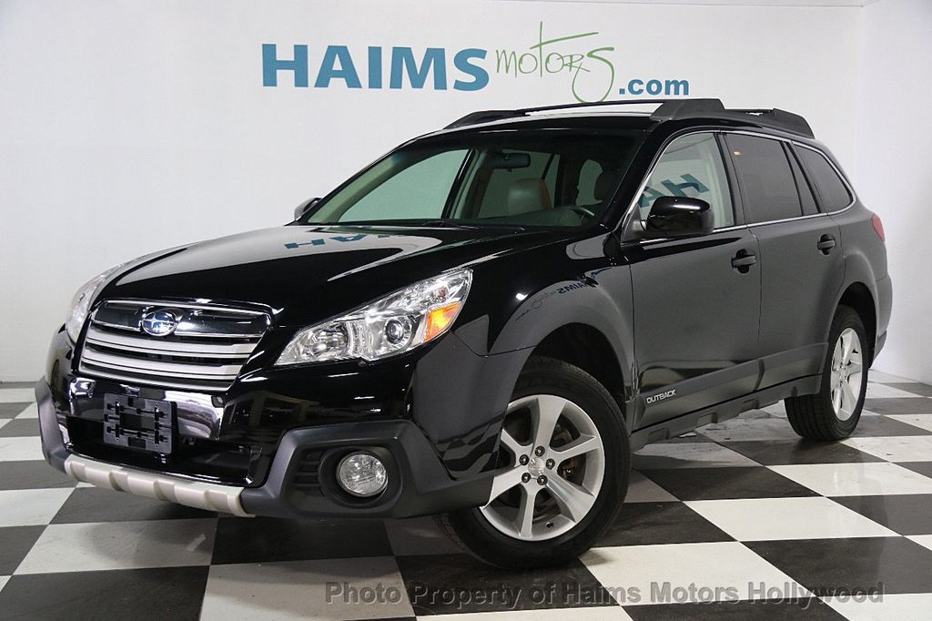2014 used subaru outback 4dr wagon h4 automatic limited at haims motors serving fort. Black Bedroom Furniture Sets. Home Design Ideas