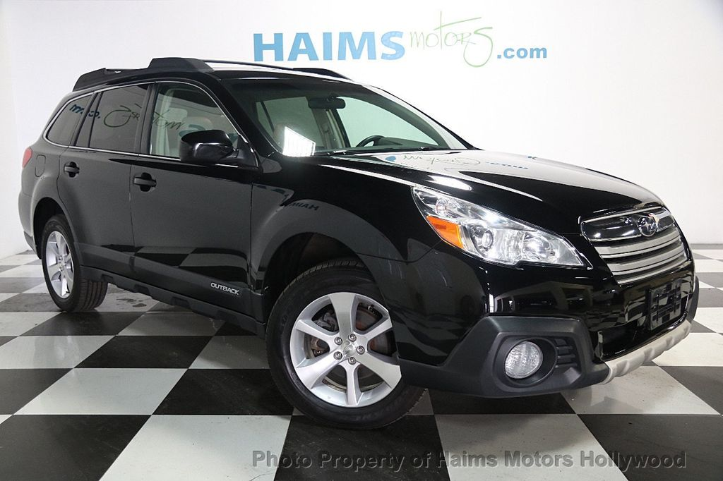 2014 used subaru outback 4dr wagon h4 automatic limited at haims motors ft lauderdale. Black Bedroom Furniture Sets. Home Design Ideas
