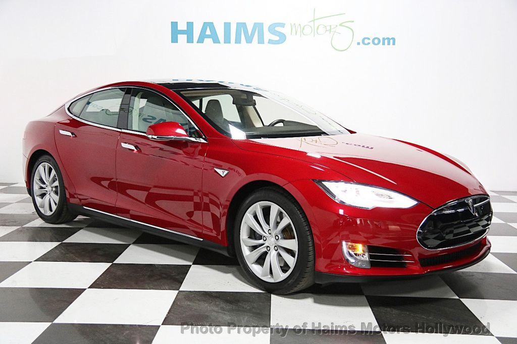Used Tesla Model S Dr Sedan KWh Battery At Haims Motors - 2014 tesla