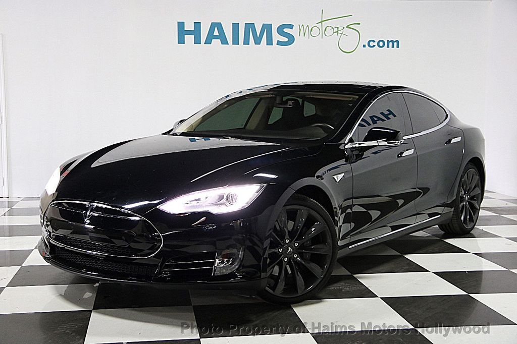 Used Tesla Model S Dr Sedan KWh Battery At Haims Motors - 2014 tesla model s