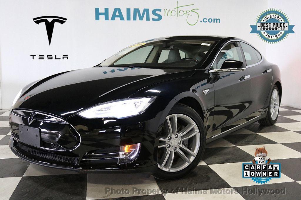 2014 Tesla Model S 4dr Sedan 85 kWh Battery - 18411958 - 0