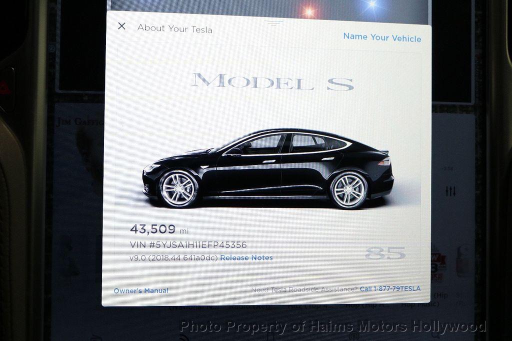 2014 Tesla Model S 4dr Sedan 85 kWh Battery - 18411958 - 30
