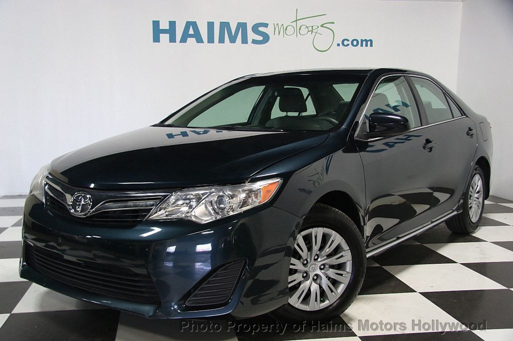 2014 used toyota camry 2014 5 4dr sedan i4 automatic le at haims motors serving fort lauderdale. Black Bedroom Furniture Sets. Home Design Ideas