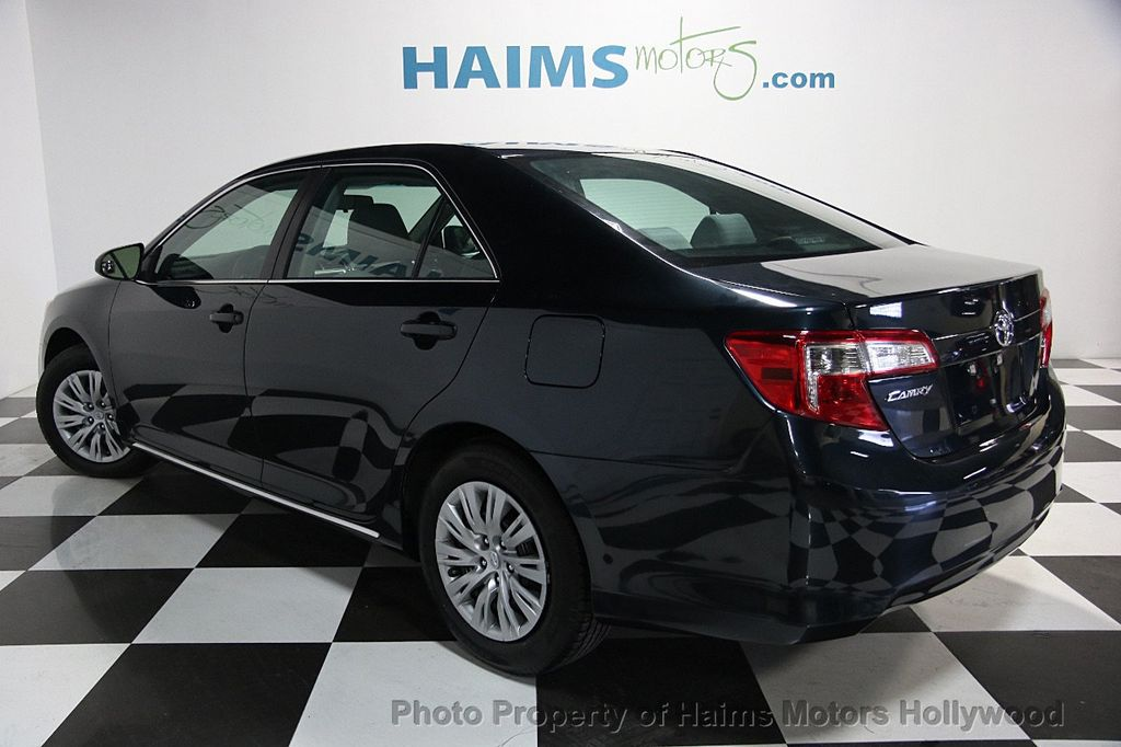 2014 used toyota camry 2014 5 4dr sedan i4 automatic le at haims motors servi. Black Bedroom Furniture Sets. Home Design Ideas