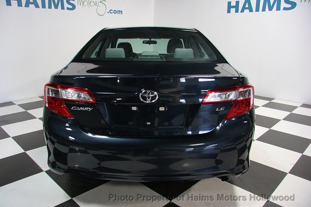 2014 used toyota camry 2014 5 4dr sedan i4 automatic le at haims motors hollywood serving fort. Black Bedroom Furniture Sets. Home Design Ideas