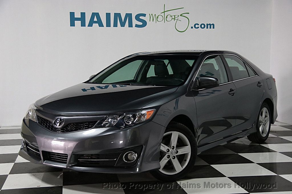 2014 used toyota camry 2014 5 4dr sedan i4 automatic se at. Black Bedroom Furniture Sets. Home Design Ideas