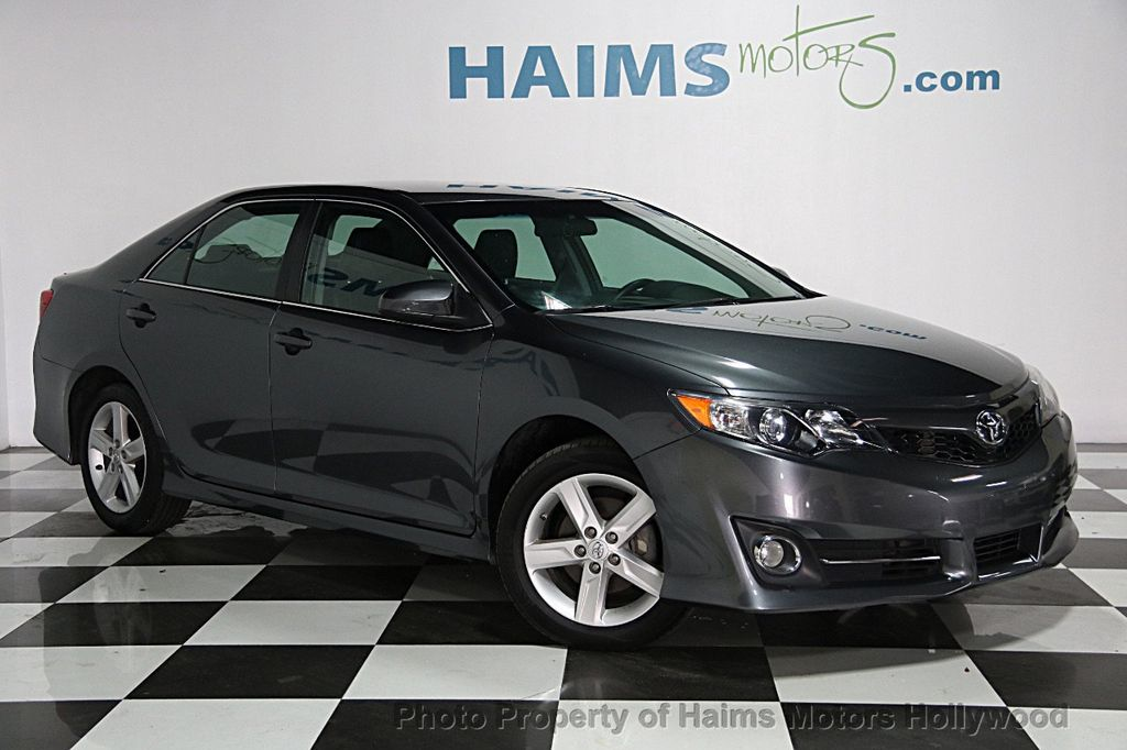 2014 Used Toyota Camry 2014 5 4dr Sedan I4 Automatic Se At
