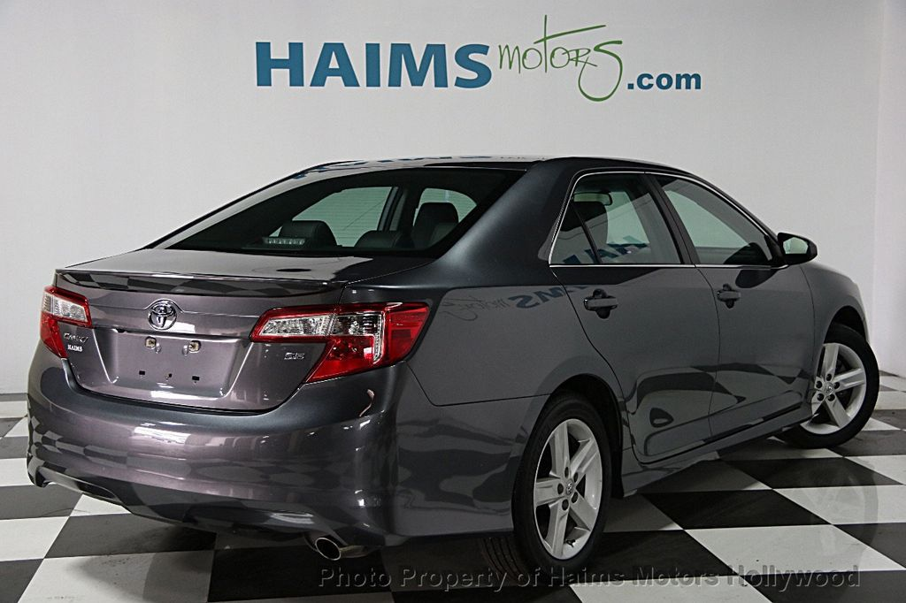 Toyota Dealer Miami >> 2014 Used Toyota Camry 2014.5 4dr Sedan I4 Automatic SE at ...