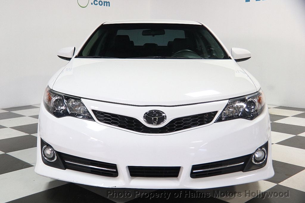 2014 used toyota camry 2014 5 4dr sedan i4 automatic se at haims motors hollywood serving fort. Black Bedroom Furniture Sets. Home Design Ideas