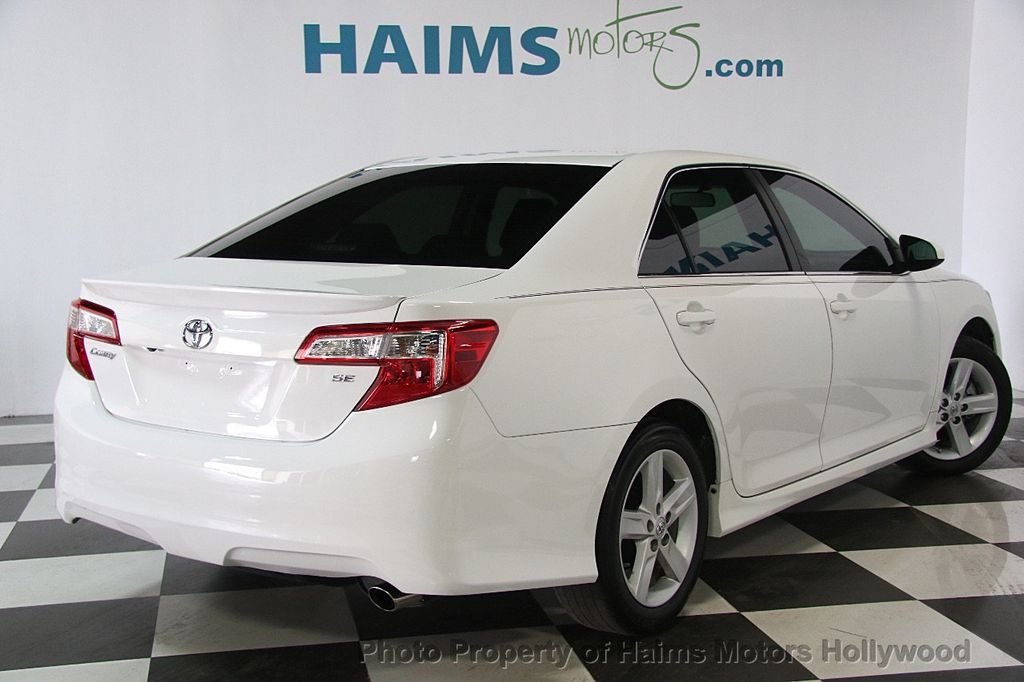 2014 Toyota Camry Se Car Design Today