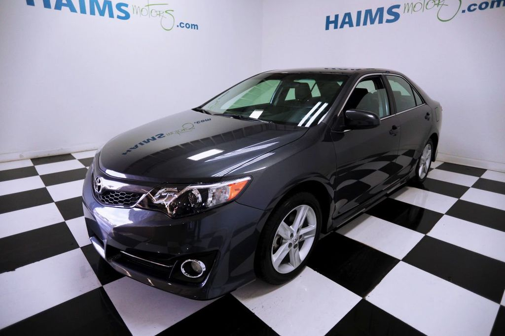 2014 used toyota camry 2014 5 4dr sedan i4 automatic se at haims motors servi. Black Bedroom Furniture Sets. Home Design Ideas
