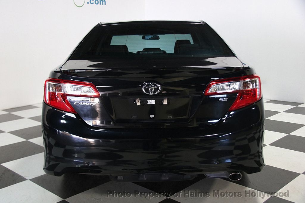 2014 used toyota camry 4dr sedan i4 automatic se at haims. Black Bedroom Furniture Sets. Home Design Ideas