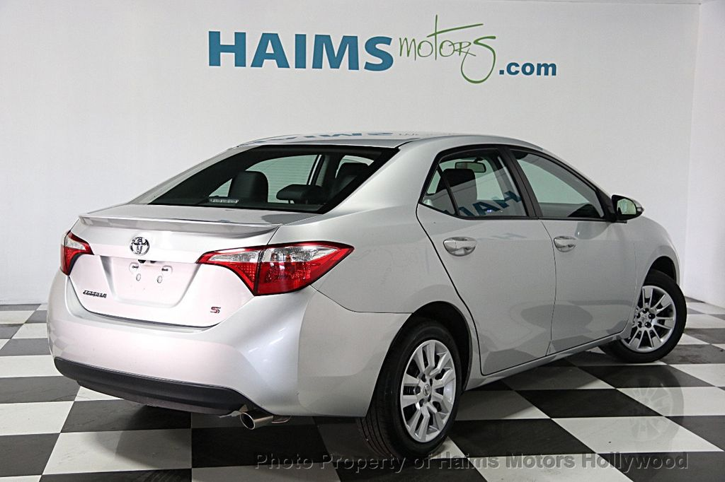 2014 used toyota corolla 4dr sedan cvt s at haims motors serving fort lauderdale hollywood. Black Bedroom Furniture Sets. Home Design Ideas
