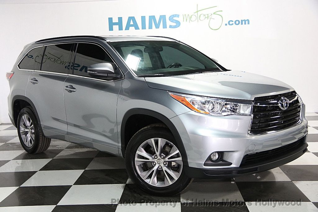 2014 used toyota highlander fwd 4dr v6 xle at haims motors. Black Bedroom Furniture Sets. Home Design Ideas