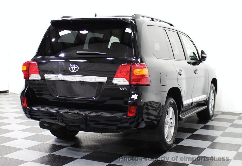 2014 used toyota land cruiser certified landcruiser v8 4wd suv 3rd row navi at eimports4less. Black Bedroom Furniture Sets. Home Design Ideas