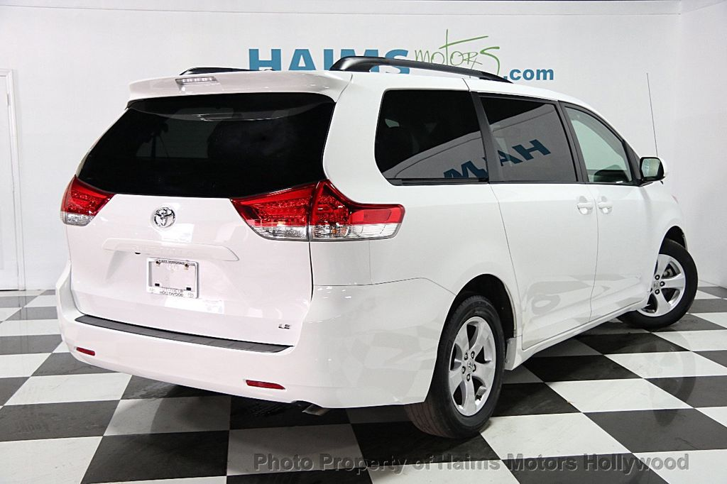 2014 used toyota sienna 5dr 7 passenger van v6 le aas fwd at haims motors serving fort. Black Bedroom Furniture Sets. Home Design Ideas