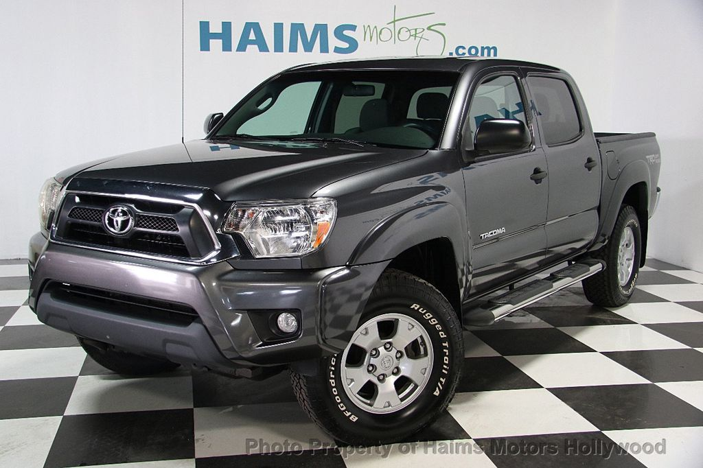 2014 used toyota tacoma 2wd double cab i4 automatic prerunner at haims motors serving fort. Black Bedroom Furniture Sets. Home Design Ideas