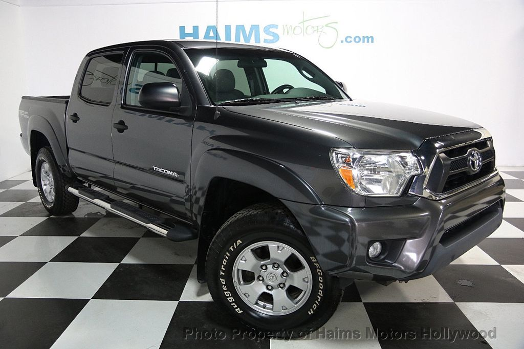 2014 used toyota tacoma 2wd double cab i4 automatic prerunner at haims motors hollywood serving. Black Bedroom Furniture Sets. Home Design Ideas