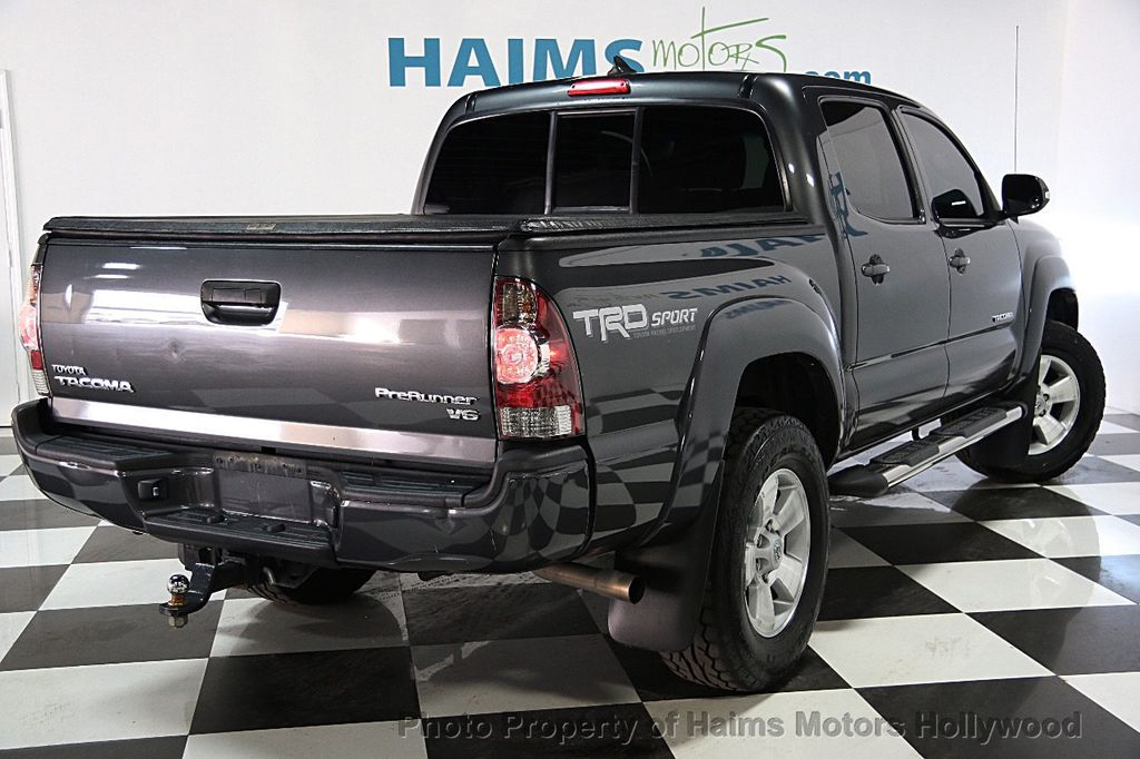 2014 used toyota tacoma 2wd double cab v6 automatic prerunner at haims motors serving fort. Black Bedroom Furniture Sets. Home Design Ideas